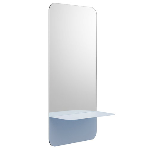 Normann Copenhagen Horizon mirror vertical, light blue