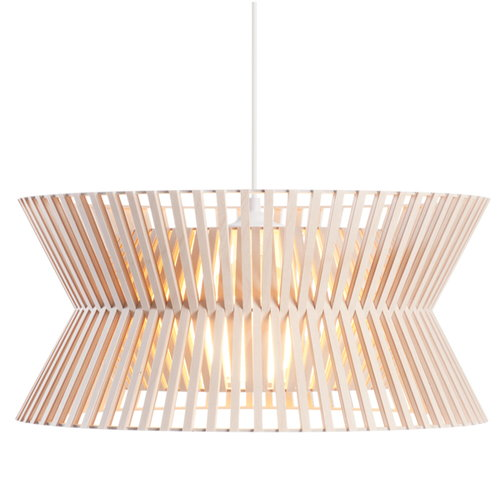 Secto Design Kontro 6000 pendant, natural