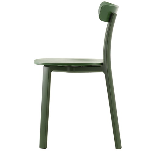 Vitra All Plastic Chair, ivy