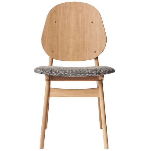 Warm Nordic Noble chair, white oiled oak - Savanna 152