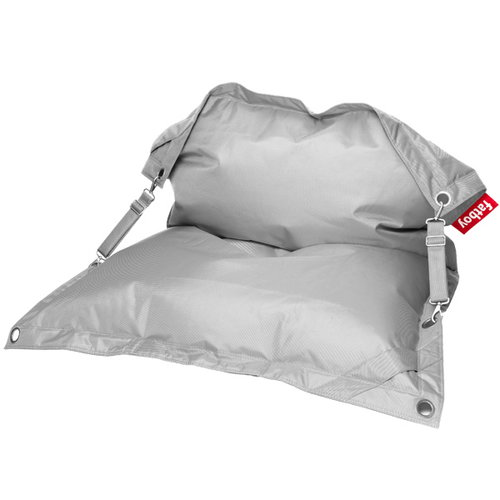 Fatboy Buggle Up bean bag, light grey