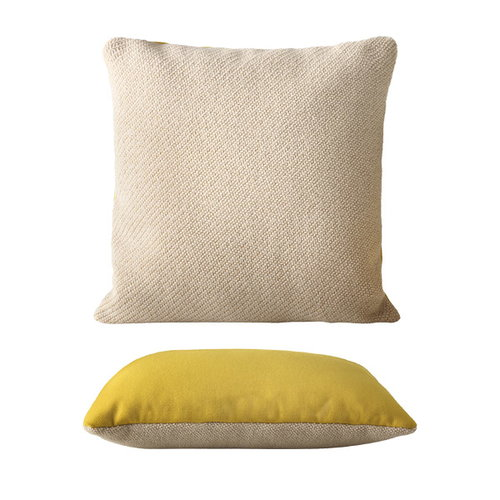 Muuto Mingle cushion, yellow