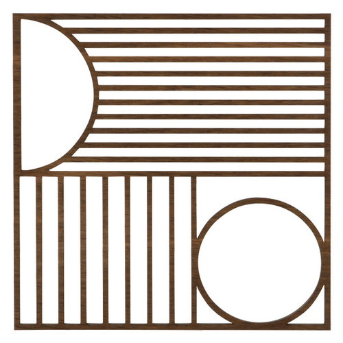 Ferm Living Outline trivet, square