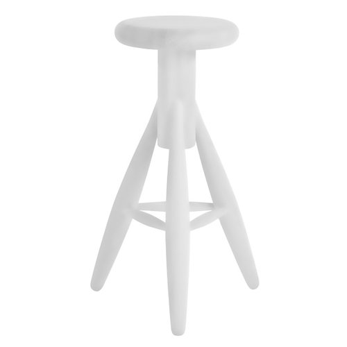 Artek Rocket bar stool, white