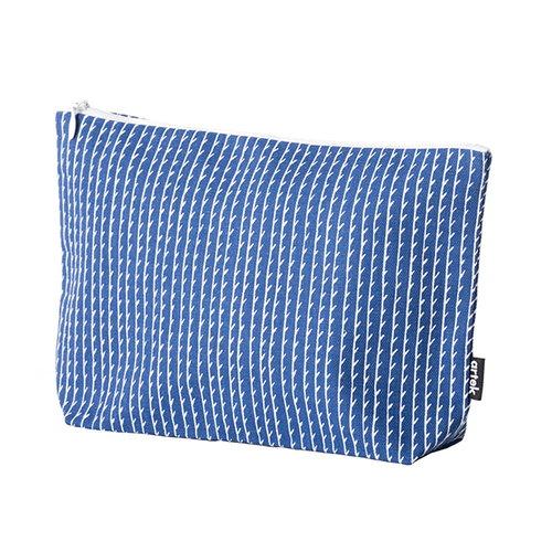 Artek Rivi pouch, large, blue-white