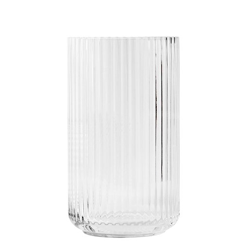 Lyngby Porcelain Vaso Lyngby in vetro, 31 cm, trasparente