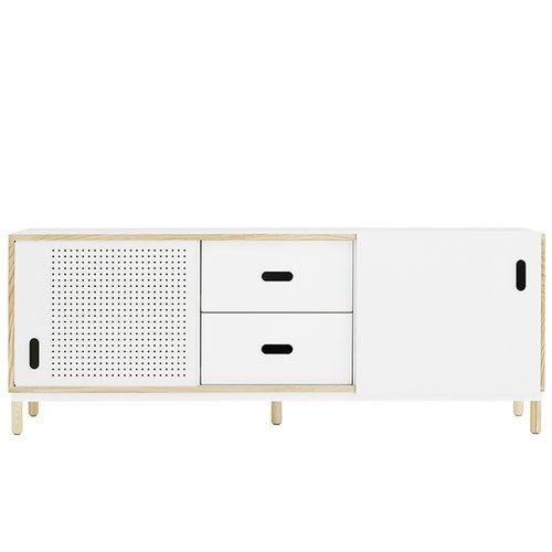 Normann Copenhagen Kabino sideboard with drawers, white
