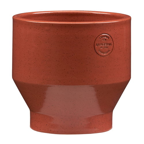 Skagerak Edge pot 18 cm, burned red