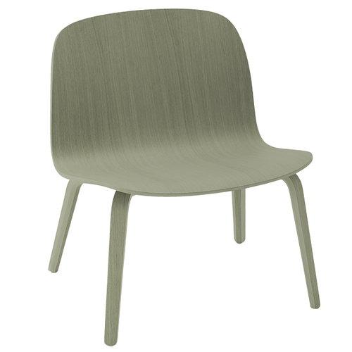 Muuto Visu lounge chair, dusty green