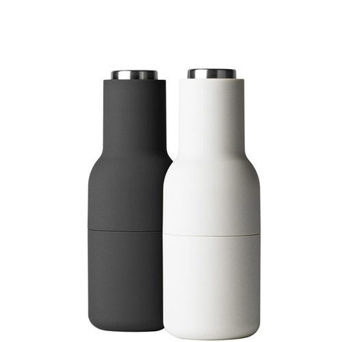 Menu Bottle grinder, 2-pack, grey/steel