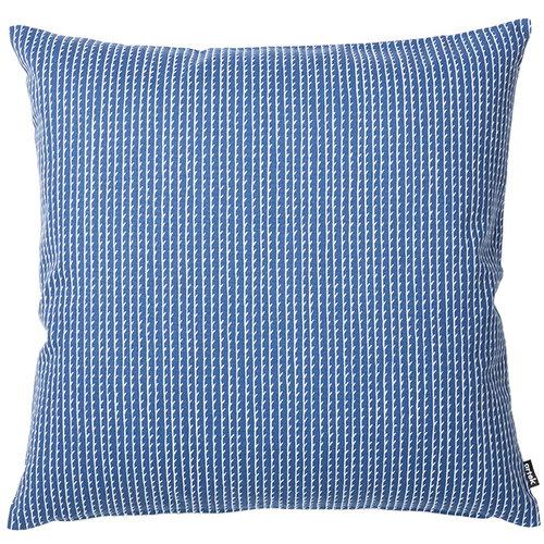 Artek Rivi tyynynpäällinen, 50 x 50 cm, sininen-valkoinen