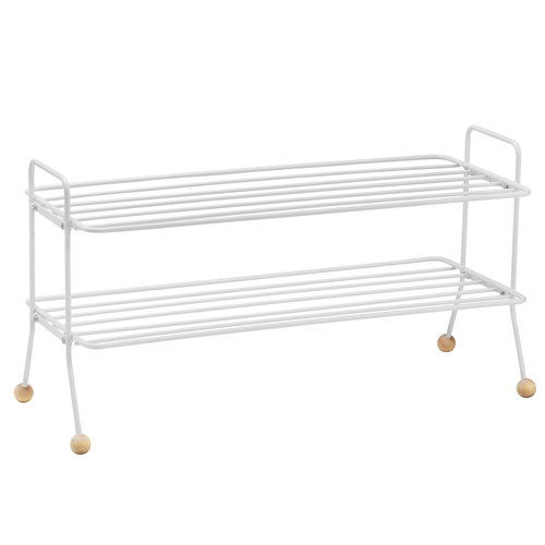 Maze Bill shoe shelf, white