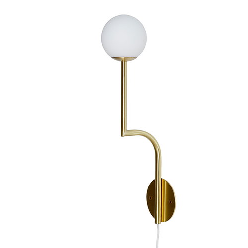 Pholc Mobil wall lamp, brass
