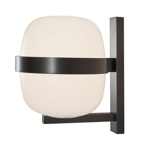 Santa & Cole Wally wall lamp, dark bronze