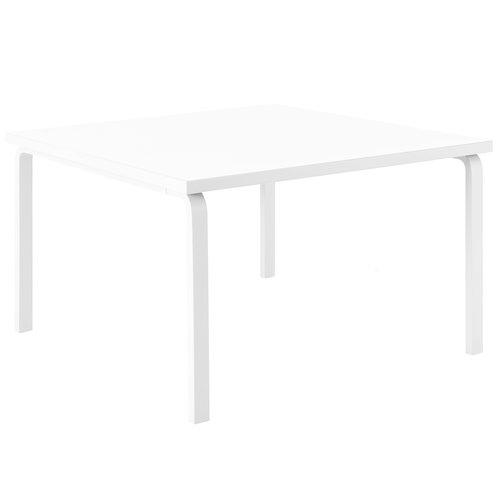 Artek Aalto table 84, all white