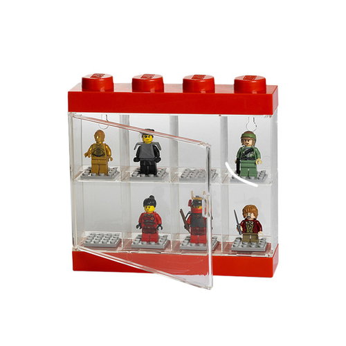 Room Copenhagen Lego display case, small, red