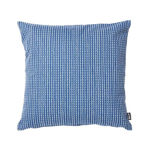 Artek Rivi cushion cover, 40 x 40 cm, blue-white
