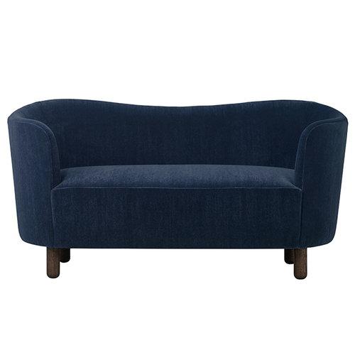 By Lassen Mingle sohva, Marimba, sininen - öljytty tammi