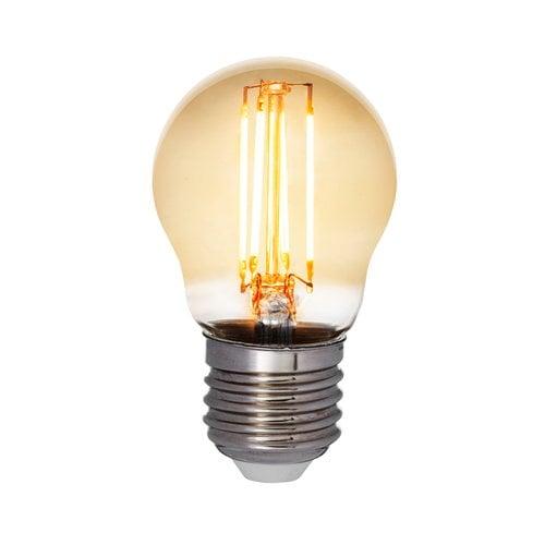 Airam LED Decor Amber deco bulb 5W E27 380lm, dimmable