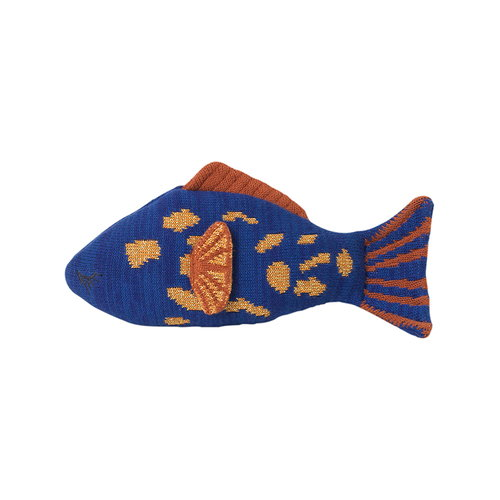 Ferm Living Fruiticana Leopard Fish cushion