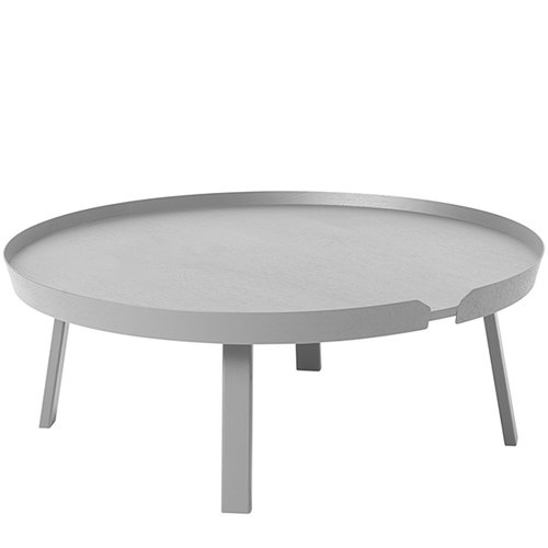 Muuto Around table XL, grey