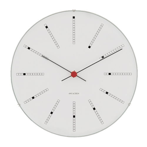 Arne Jacobsen AJ Bankers wall clock 290 mm