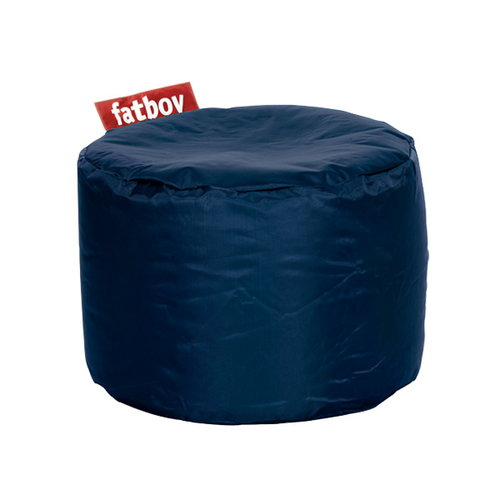 Fatboy Pouf rotondo Point, blu scuro