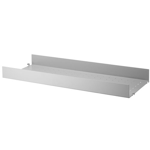 String String metal shelf, 78 x 30 cm, high, grey