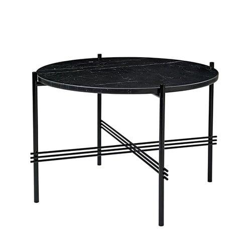 Gubi TS sohvap�yt�, 55 cm, musta - musta marmori