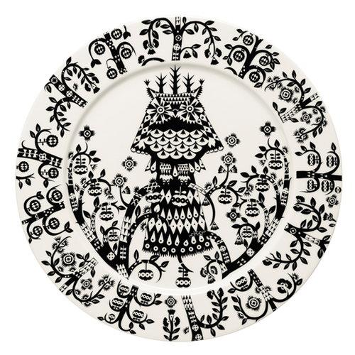 Iittala Taika plate 27 cm, black