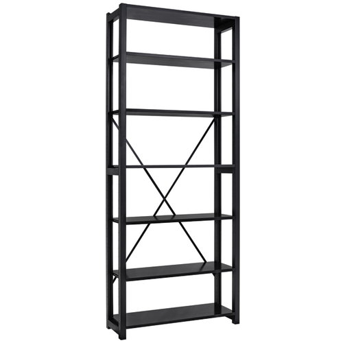 Lundia Classic open shelf, high, black