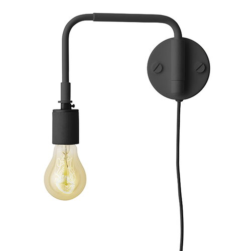 Menu Tribeca Staple wall lamp, black