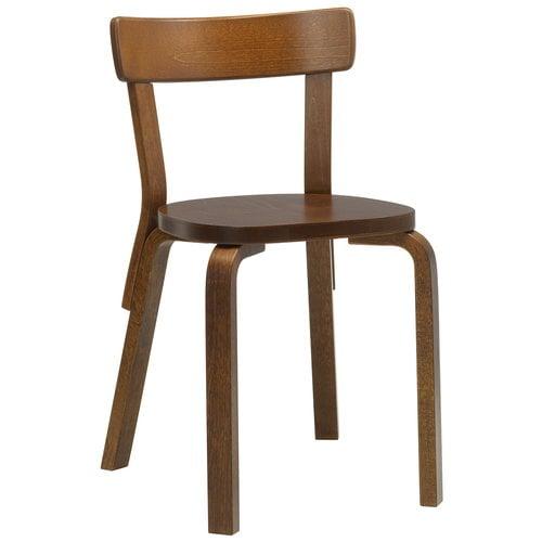 Artek Aalto chair 69, walnut