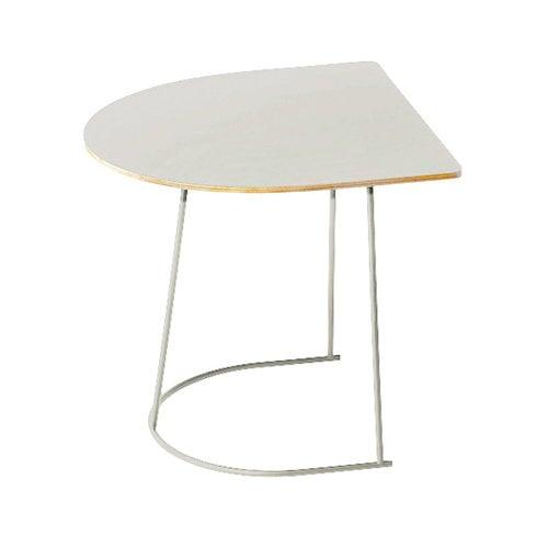 Muuto Airy coffee table, half size, grey