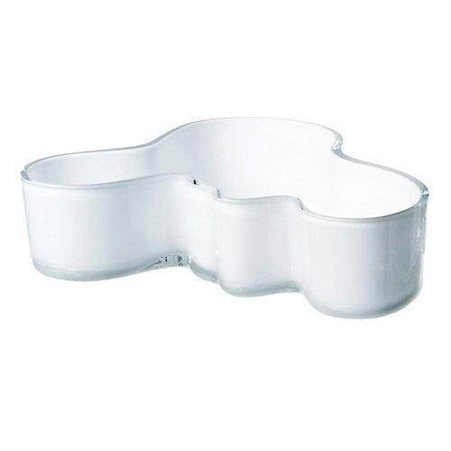 Iittala Ciotola Aalto 50x195 mm, bianca