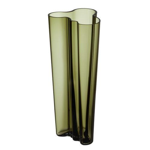 Iittala Aalto vase 255 mm, moss green