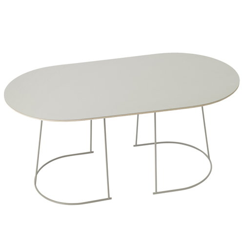 Muuto Airy coffee table, medium, grey, older version