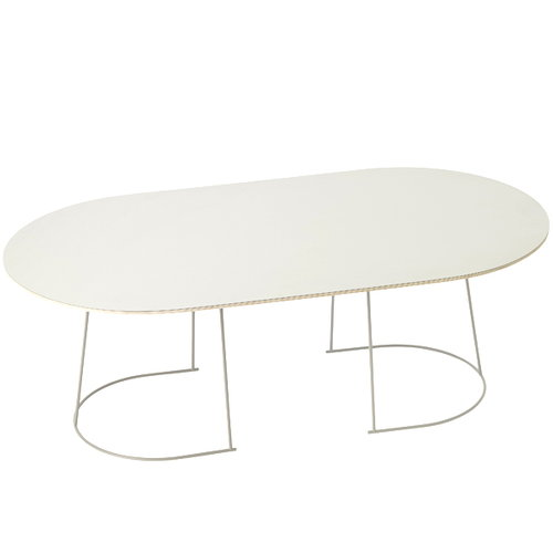 Muuto Airy coffee table, large, off-white