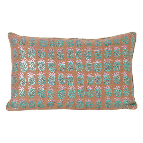 Ferm Living Salon cushion, 40 x 25 cm, Pineapple
