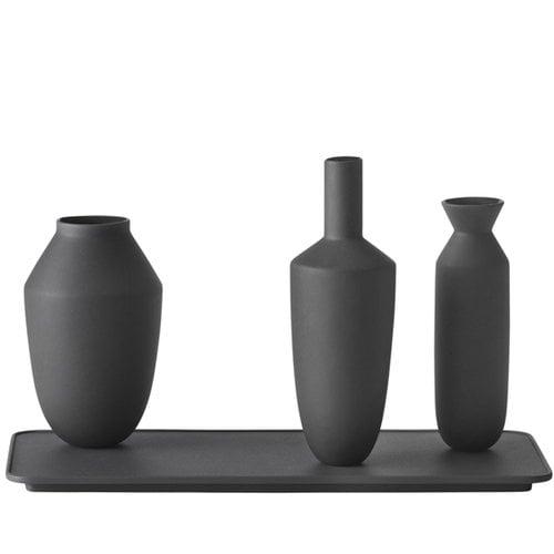 Muuto Balance vase, set of 3, black
