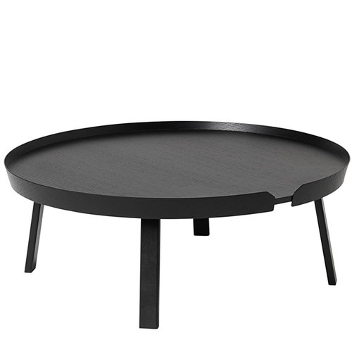 Muuto Around table XL, black
