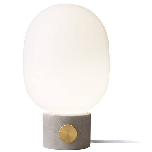 Menu JWDA table lamp, light concrete