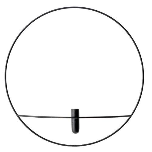 Menu POV Circle vase, L, black