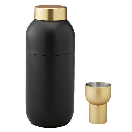 Stelton Collar cocktail shaker + measure cup
