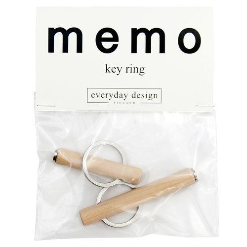 Everyday Design Memo keyrings, set of 2