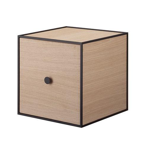 By Lassen Frame 28 box with door, oak