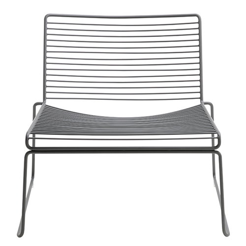 Hay Hee lounge chair, asphalt grey