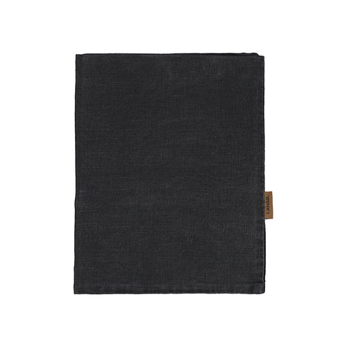 Lang� Pillowcase, linen, black