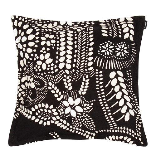 Marimekko N�si� cushion cover 40 x 40 cm, black - white