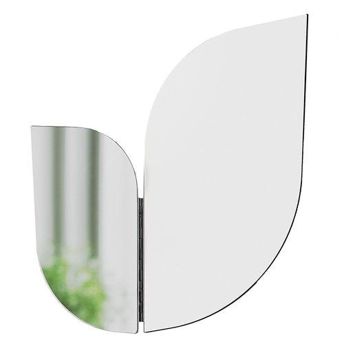 Katriina Nuutinen Perho mirror, medium, white